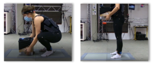 Impact musculosquelettique de l'exosquelette sur le port de charge