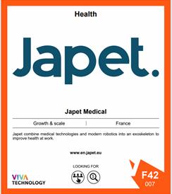 Japet - Salon VivaTech 2021